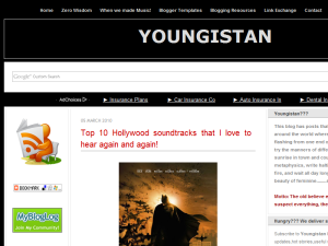 YOUNGISTAN Web Domain Authority Directory