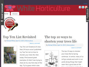 White Horticulture Web Domain Authority Directory