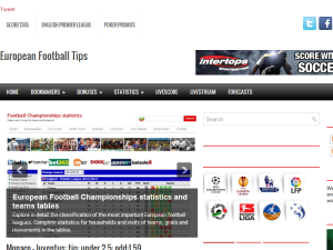 European Football Tips Web Domain Authority Directory