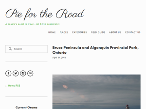 Pie for the Road Web Domain Authority Directory
