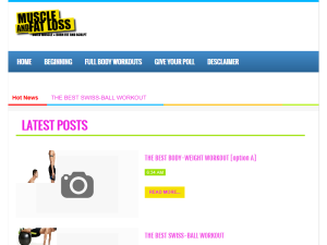Muscle and Fat Loss Web Domain Authority Directory