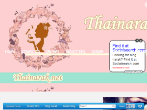 Thainarak - Beauty and fashion in thailand Web Domain Authority Directory