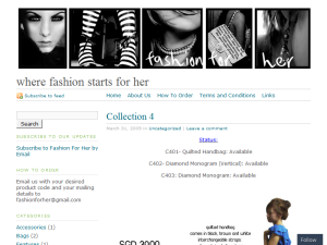 Fashion For Her Web Domain Authority Directory