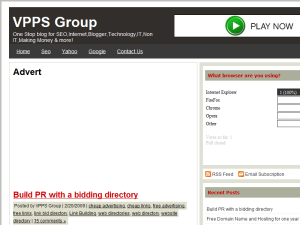 VPPS Group Web Domain Authority Directory