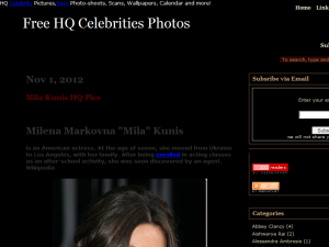 Damn! Celebrity Web Domain Authority Directory