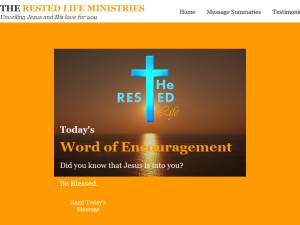 The Rested Life Ministries Web Domain Authority Directory