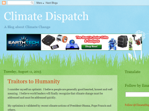 Climate Dispatch Web Domain Authority Directory