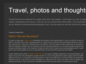 Travel, Photos and Thoughts Web Domain Authority Directory