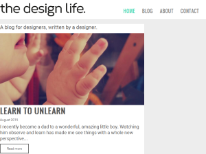 The Design Life | Todd Anderson Web Domain Authority Directory