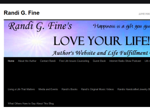 Randi Fine's Love Your Life Blog Web Domain Authority Directory