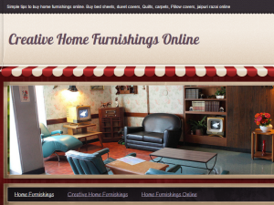 Creative Home Furnishings Online Web Domain Authority Directory