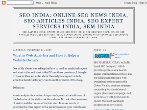SEO India - SEO News India, SEO Articles India, SEO Expert Services India, SEO Company News India Web Domain Authority Directory