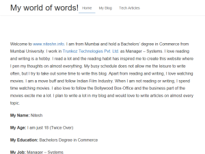 My World of Words Web Domain Authority Directory