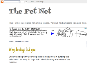 The PetNet Web Domain Authority Directory