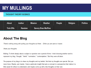 My Mullings Web Domain Authority Directory