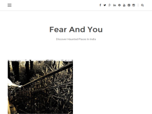 Haunted Places in India Web Domain Authority Directory