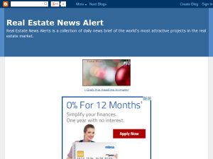 Real Estate News Alert Web Domain Authority Directory