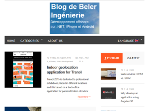 Blog de Beler Ingenierie Web Domain Authority Directory
