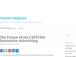 Hackers Vanguard Web Domain Authority Directory