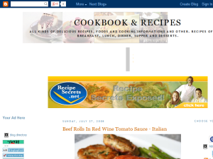 cookbook n recipes Web Domain Authority Directory