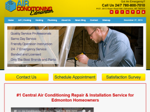 Air-Conditioning-Edmonton.ca Web Domain Authority Directory