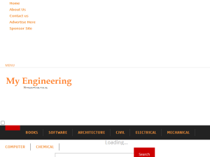 My Engineering Web Domain Authority Directory