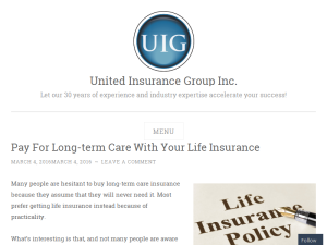 United Insurance Group Web Domain Authority Directory