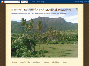 Natural Scientific and Medical Wonders Web Domain Authority Directory