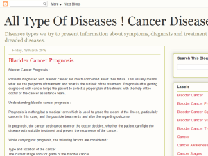 Cancer Diseases Web Domain Authority Directory