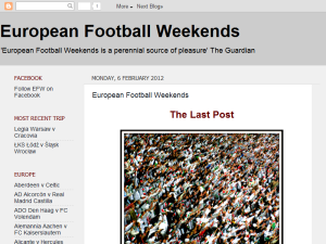 European Football Weekends Web Domain Authority Directory