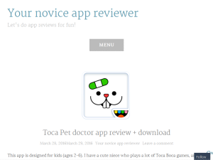 Your Novice App reviewer Web Domain Authority Directory
