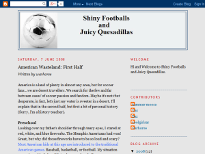 Shiny Footballs and Juicy Quesadillas Web Domain Authority Directory