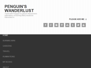 Penguin's Wanderlust Web Domain Authority Directory