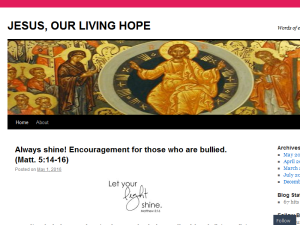 Jesus, Our Living Hope Web Domain Authority Directory