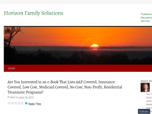 Horizon Family Solutions Web Domain Authority Directory