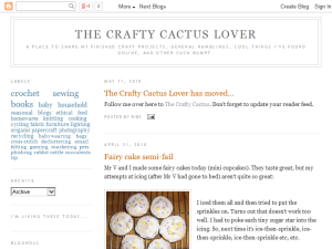 The Crafty Cactus Lover