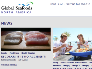 Global Seafoods Store Blog Web Domain Authority Directory