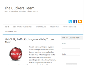 The Clickers Team Web Domain Authority Directory