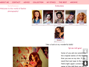 BarbieFantasies - Welcome to the world of Barbie photography! Web Domain Authority Directory