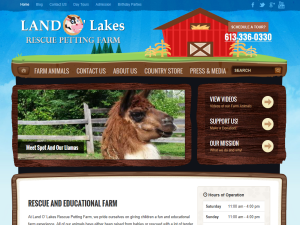 Land O' Lakes Rescue Petting Farm