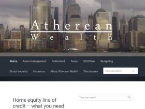 Atherean Wealth Web Domain Authority Directory