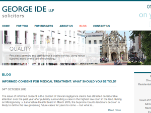 George Ide LLP Solicitors Web Domain Authority Directory