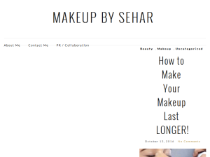 Makeup By Sehar Web Domain Authority Directory