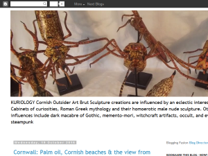 Cornwall Kuriology: Cornish Art and Sculpture Web Domain Authority Directory