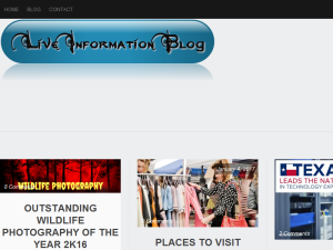 Live Information blog Web Domain Authority Directory
