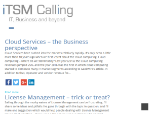 ITSM Calling Web Domain Authority Directory