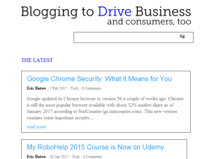 Blogging to Drive Business Web Domain Authority Directory