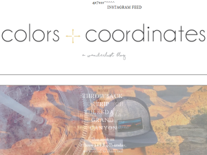 Colors and Coordinates Web Domain Authority Directory