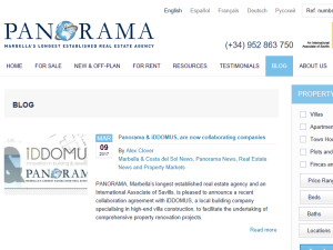 Panorama Properties Web Domain Authority Directory