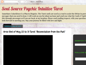 Soul Source Psychic Intuitive Tarot Web Domain Authority Directory